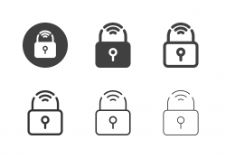 Smart Lock Icons - Multi Series