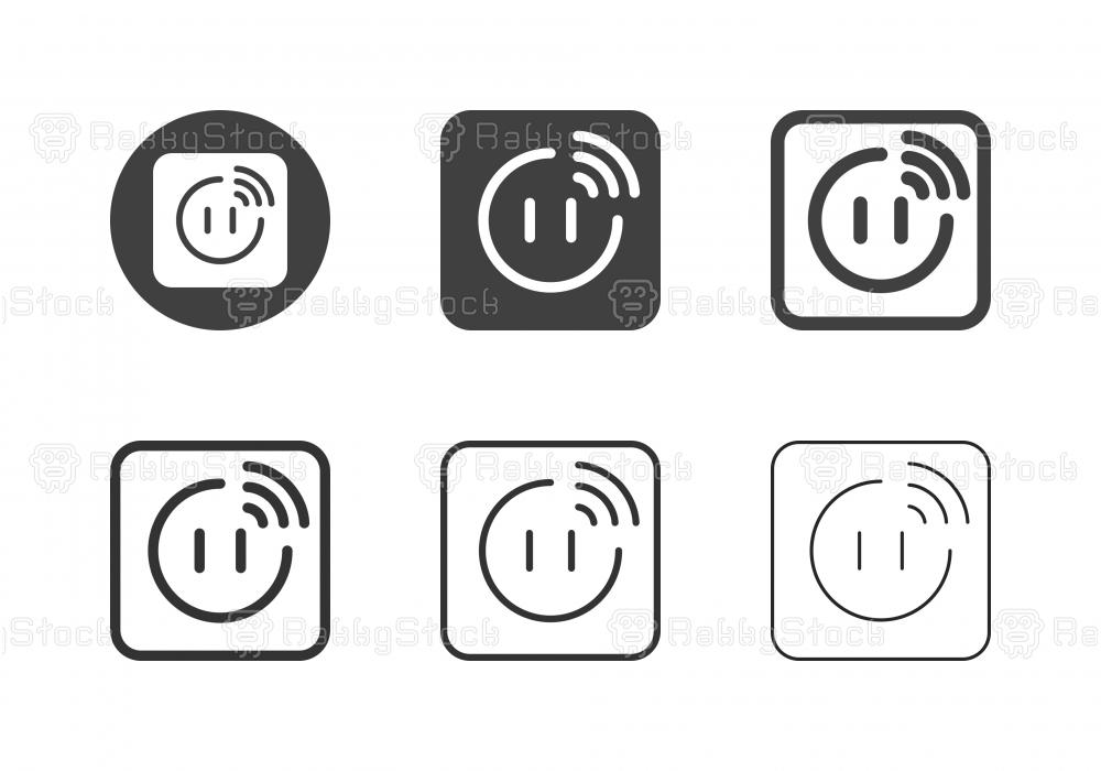 Smart Plug Icons - Multi Series