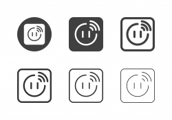 Smart Plug Icons - Multi Series
