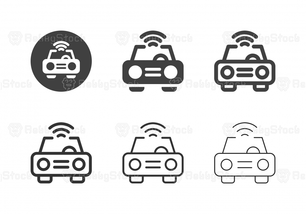 Smart Car Icons - Multi Series