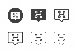 Bubble Plan Icons - Multi Series