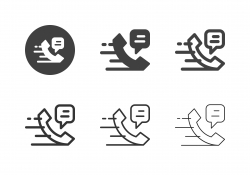 Hotline Icons - Multi Series