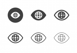 Global Vision Icons - Multi Series
