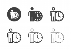 Time Keeper Icons - Multi Series