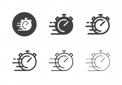 Stop Speed Icons - Multi Series