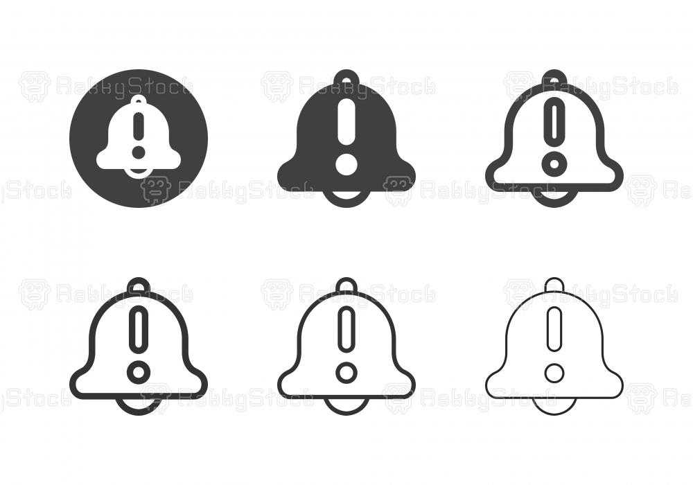 Reminder Alert Icons - Multi Series