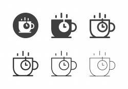 Coffee Time Icons - Multi Series