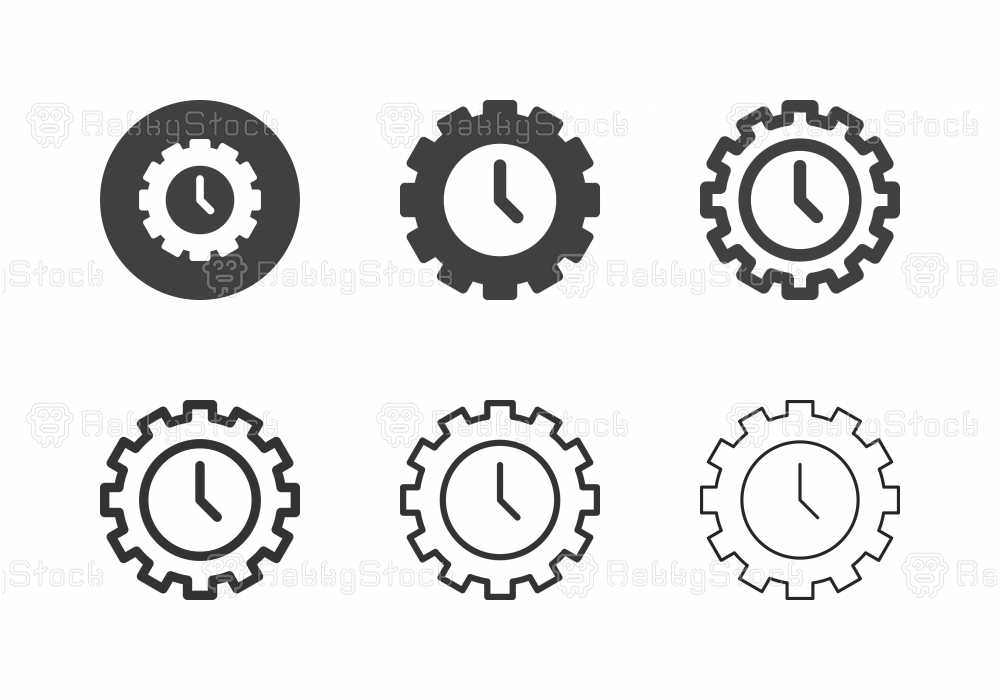 Time Control Icons - Multi Series