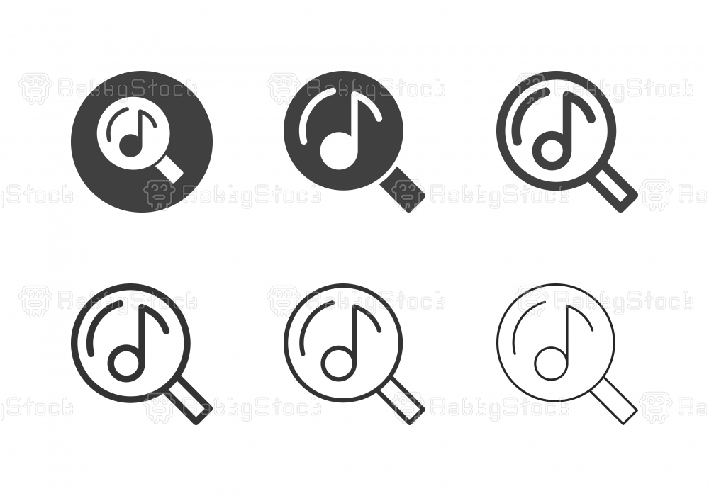 Searching Music Icons - Multi Series
