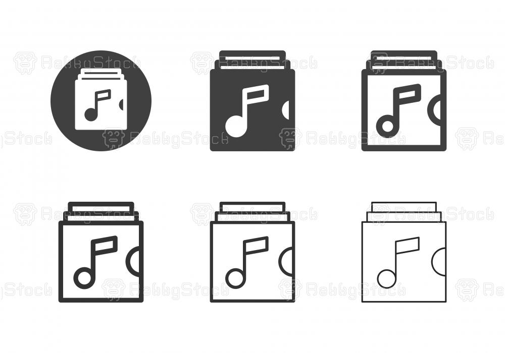 Album Release Icons - Multi Series