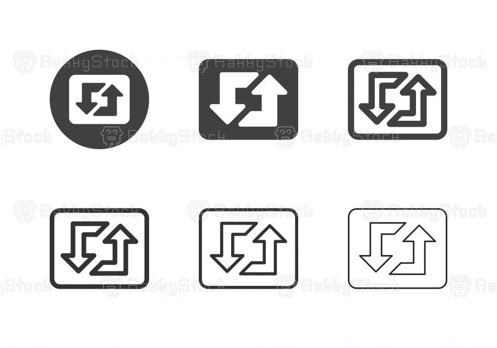 Loopable Music Icons - Multi Series