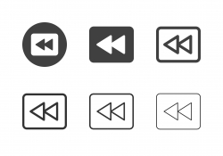 Rewind Track Icons - Multi Series