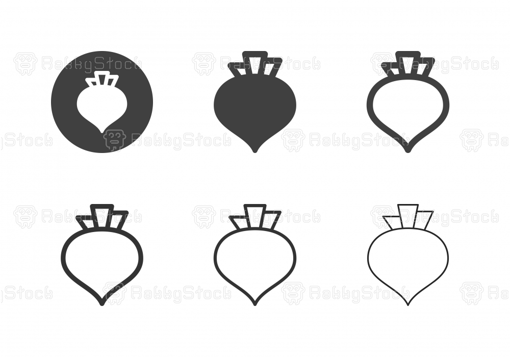 Beetroot Icons - Multi Series