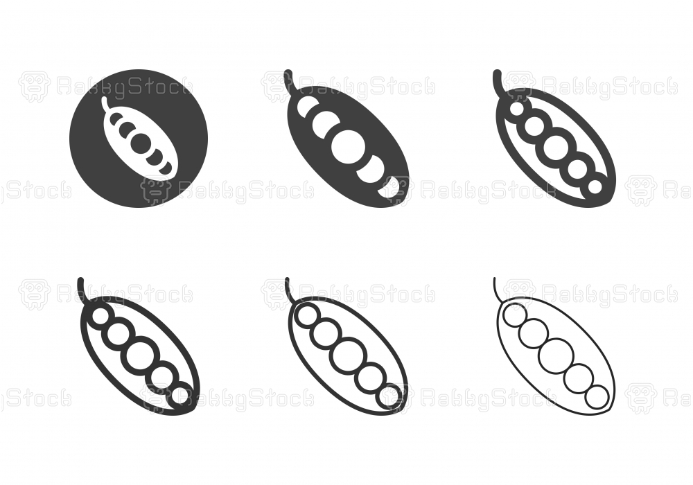 String Bean Icons - Multi Series