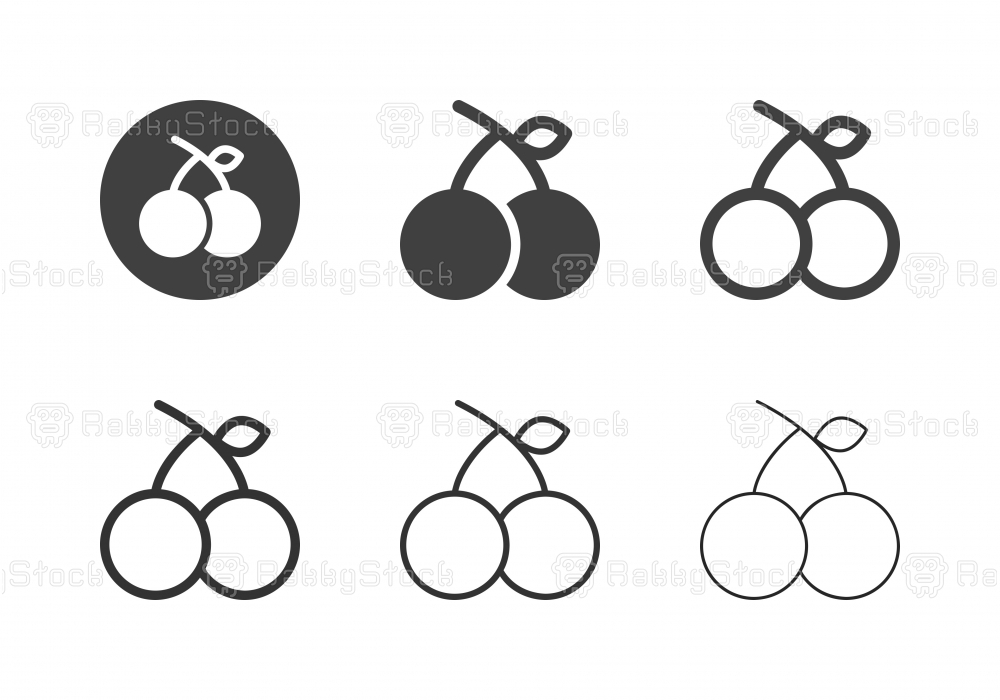 Cherry Icons - Multi Series