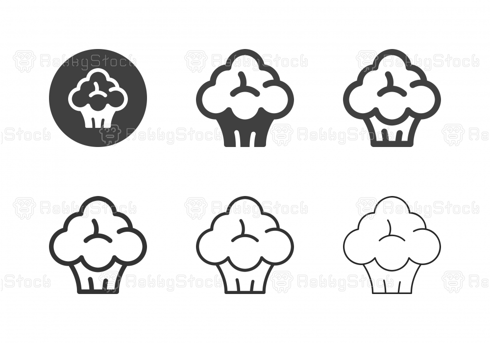 Broccoli Icons - Multi Series