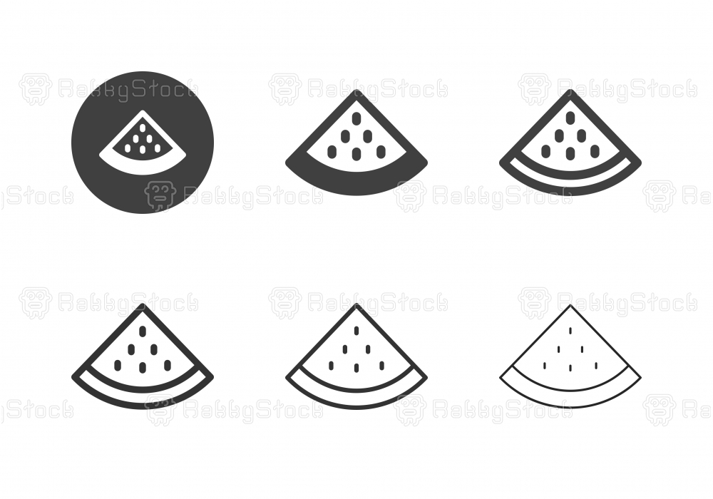Slice of Watermelon Icons - Multi Series