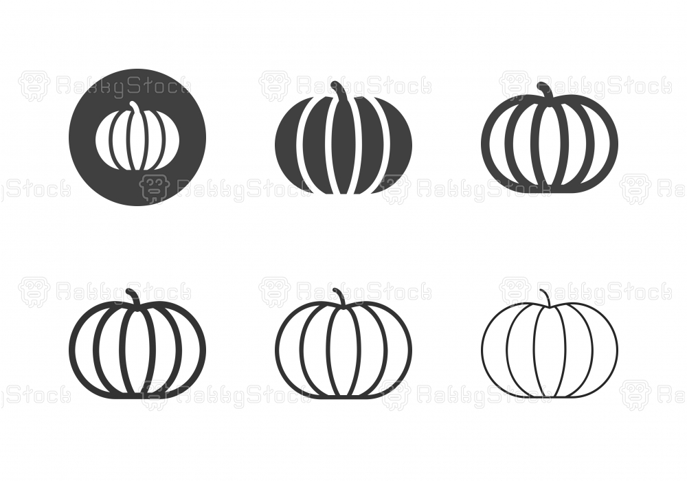 Pumpkin Icons - Multi Series
