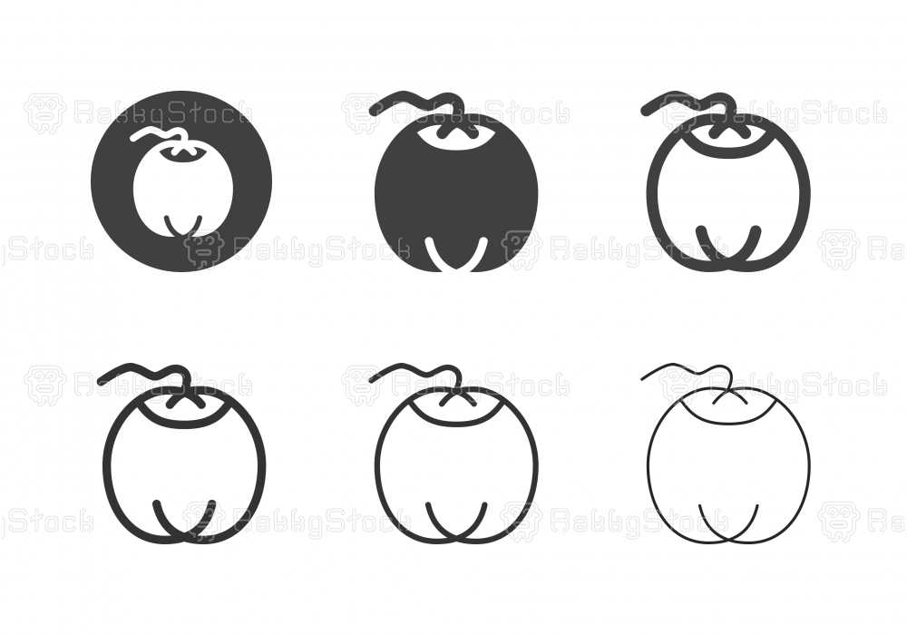 Coconut Icons - Multi Series