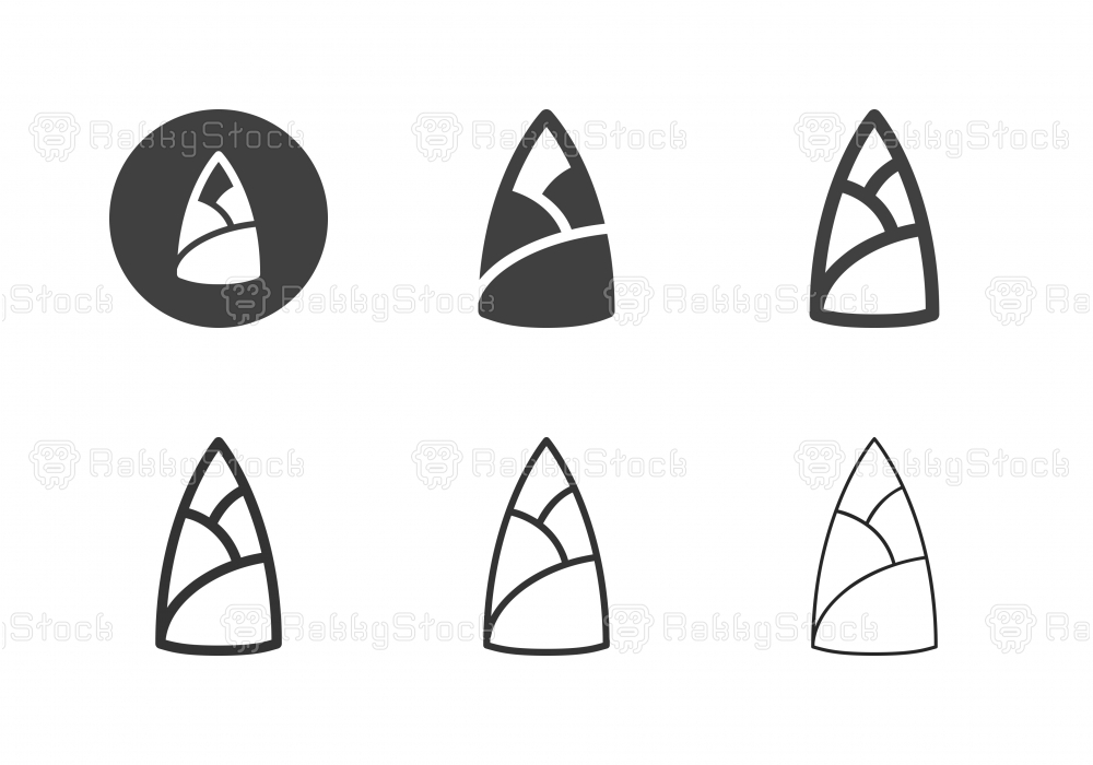Shoot of Bamboo Icons - Multi Series