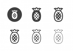 Pineapple Icons - Multi Series