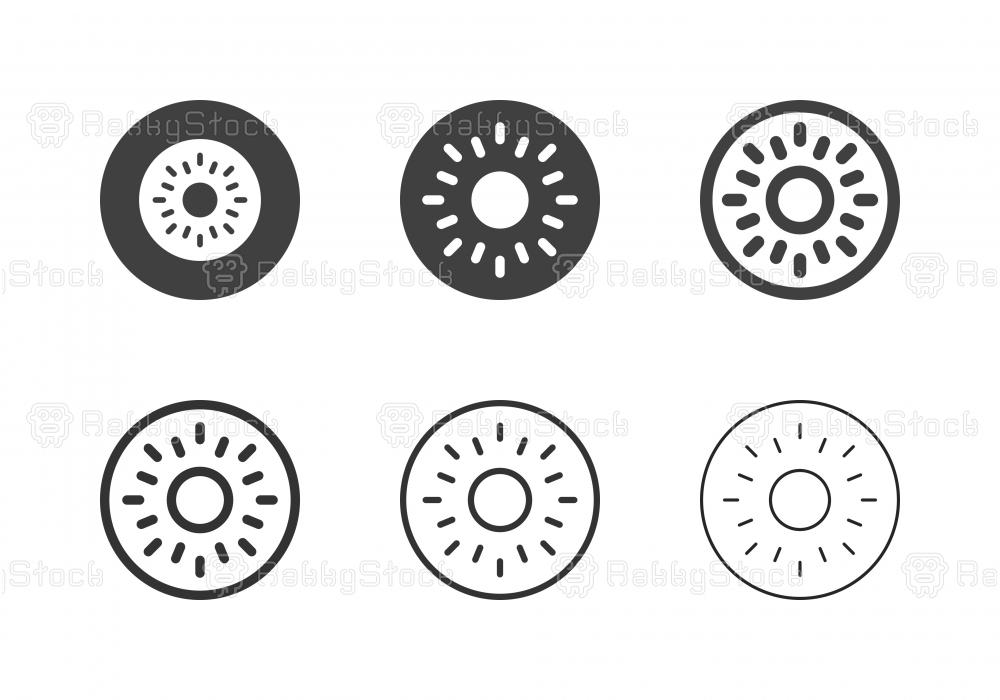 Kiwi Icons - Multi Series