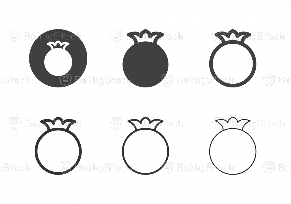 Pomegranate Icons - Multi Series