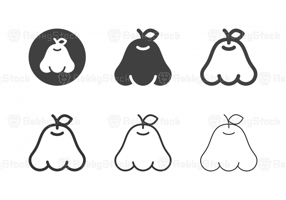 Rose Apple Icons - Multi Series