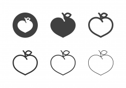 Peach Icons - Multi Series