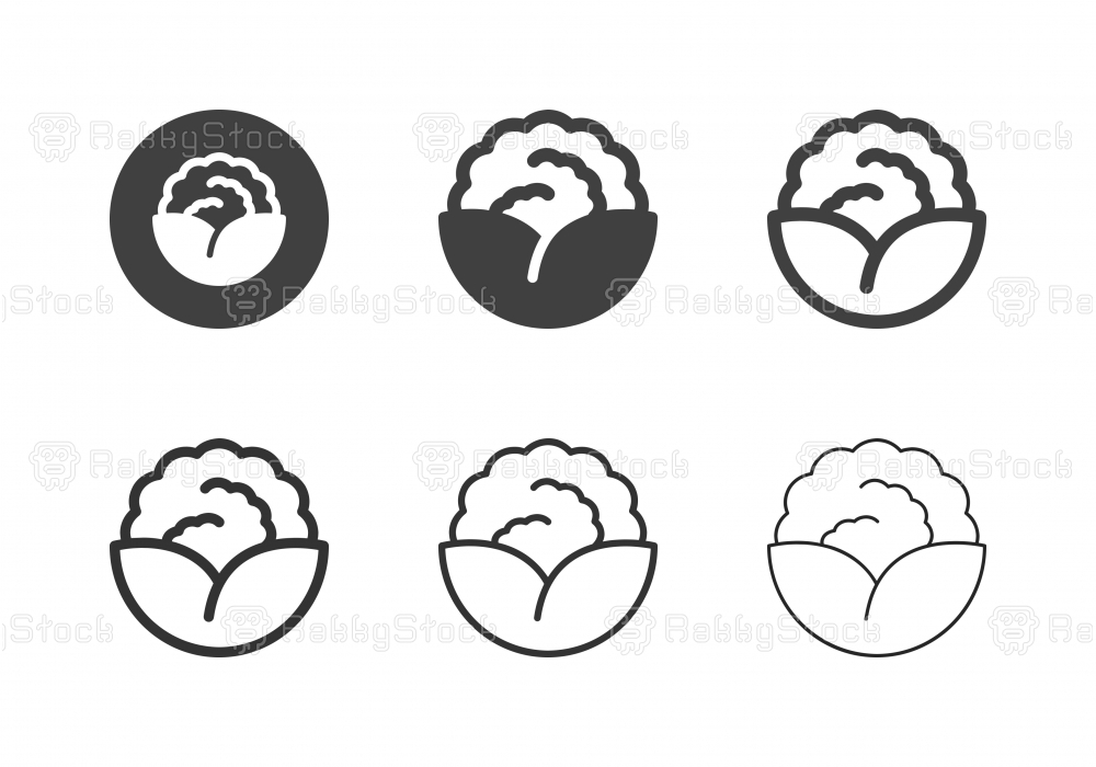 Cauliflower Icons - Multi Series