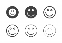 Smiley Emoticon Icons - Multi Series