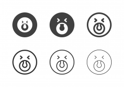 Shout Emoticon Icons - Multi Series
