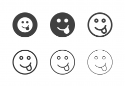 Cheeky Emoticon Icons - Multi Series