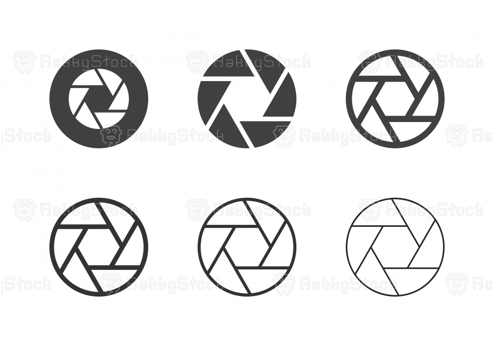 F8 Aperture Icons - Multi Series