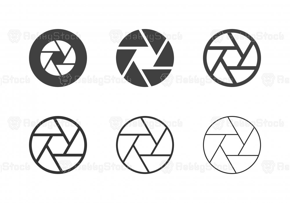 F11 Aperture Icons - Multi Series
