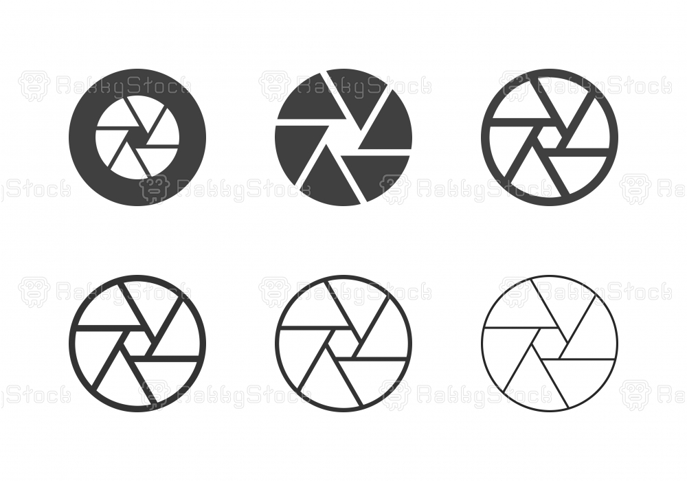 F22 Aperture Icons - Multi Series