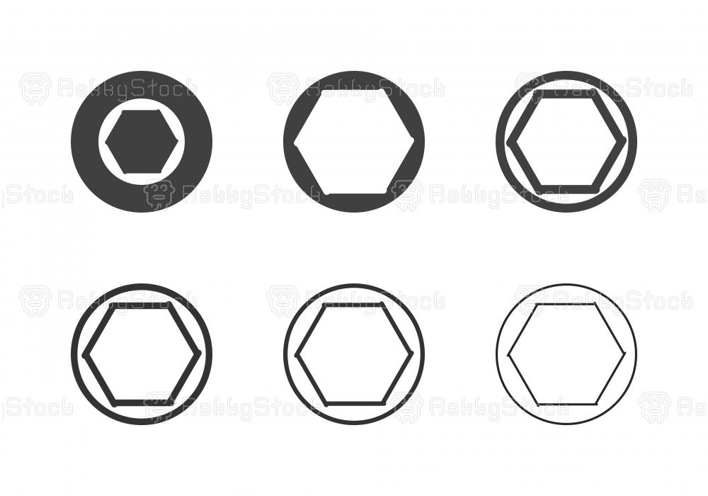 F1.4 Camera Aperture Icons - Multi Series