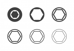 F1.4 Camera Aperture Icons - Multi Series