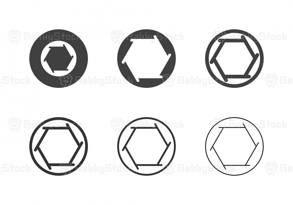 F2 Camera Aperture Icons - Multi Series