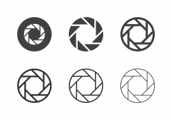 F4 Camera Exposure Icons - Multi Series