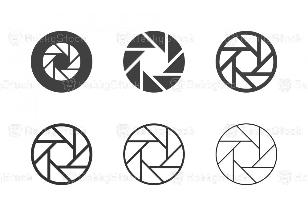 F8 Camera Exposure Icons - Multi Series