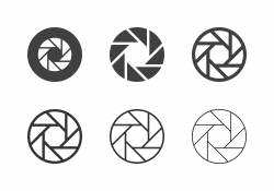 F8 Camera Exposure Icons - Multi Series