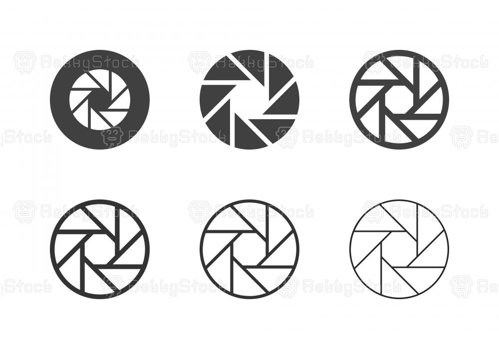 F11 Camera Exposure Icons - Multi Series