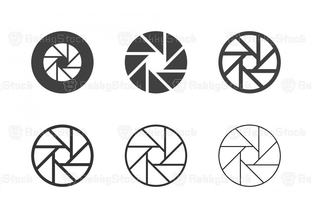 F16 Camera Exposure Icons - Multi Series
