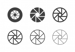 F22 Camera Exposure Icons - Multi Series