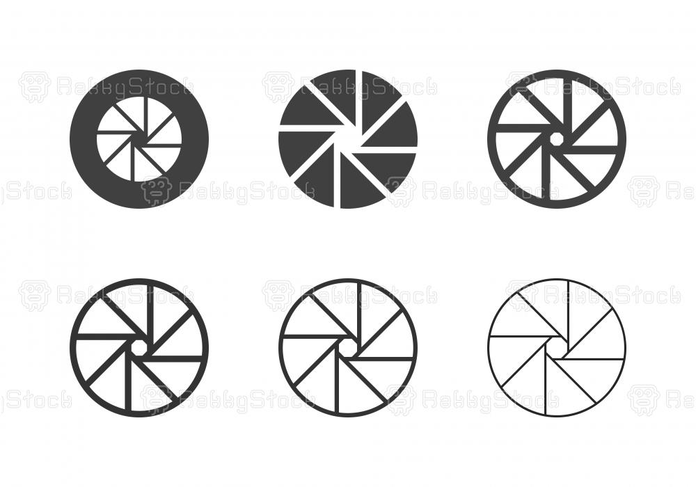 F32 Camera Exposure Icons - Multi Series