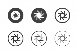F-Stop 16 Aperture Icons - Multi Series