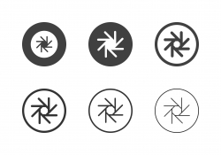 F-Stop 22 Aperture Icons - Multi Series