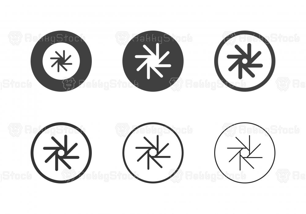 F-Stop 32 Aperture Icons - Multi Series