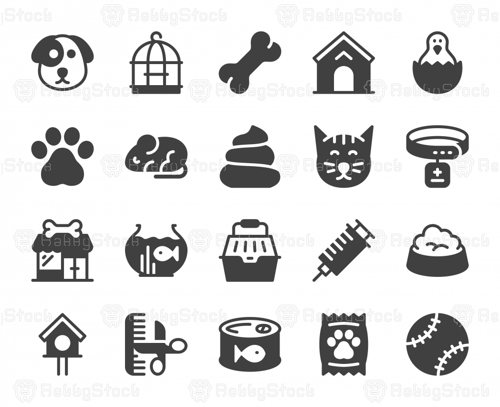 Domestic Animals - Icons